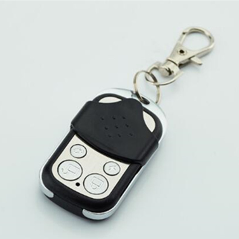 Wireless Metal Remote Control Keyfobs Keychain 433MHz Is Only Available for Our G2B O2B Security Protection GSM Alarm System