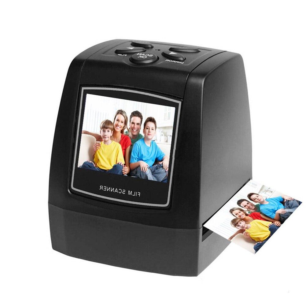 Portable Rapide scanner de film Diapositive écran lcd Photographique PlateHome Bureau Haute Résolution Professionnel Facile Fonctionner #2