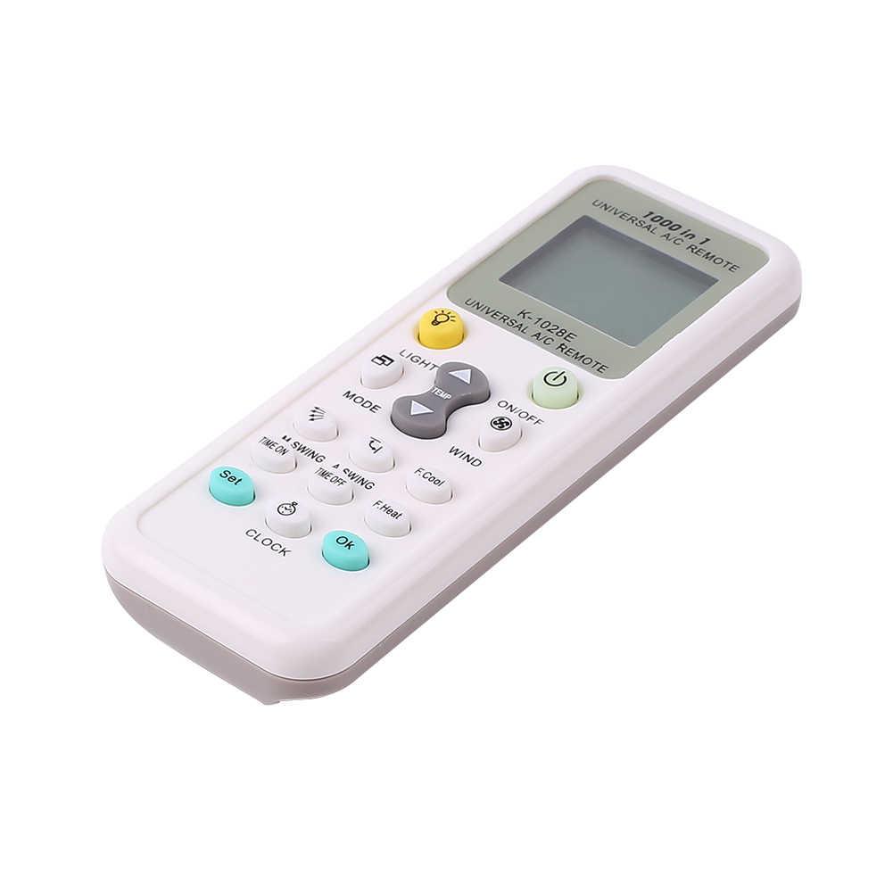 Универсальный K-1028E последние 1000 в 1 адаптивное управление, дистанционное управление для кондиционера состояние ЖК Подсветка A/C Мули дистанционное управление