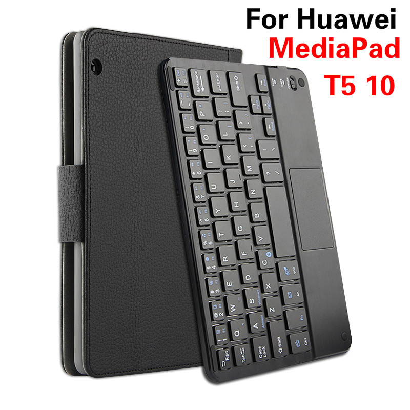Detach Wireless Bluetooth Keyboard Case for Huawei MediaPad T5 10 High Quatity Stand Cover for MediaPad