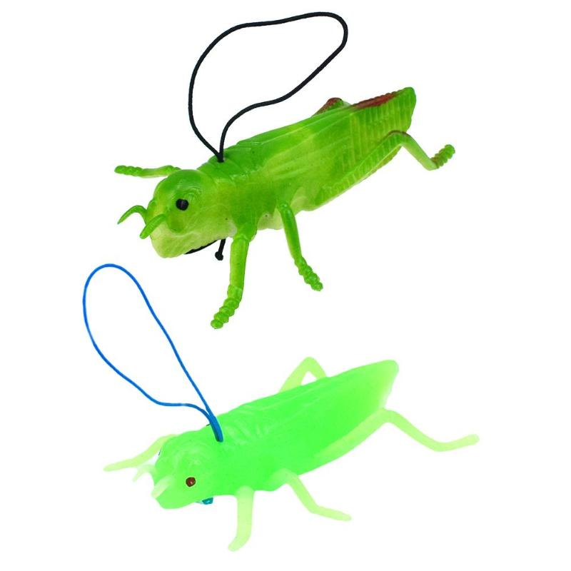 Toys & Hobbies Imitation Insects Grasshopper Model Fake Locust Toys False Insects Scary Tricky Pranks Maker Toys For Children Christmas Gifts Novelty & Gag Toys