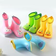 Детская непромокаемая обувь с широким носком для маленьких мальчиков и девочек; детская непромокаемая обувь с широким носком