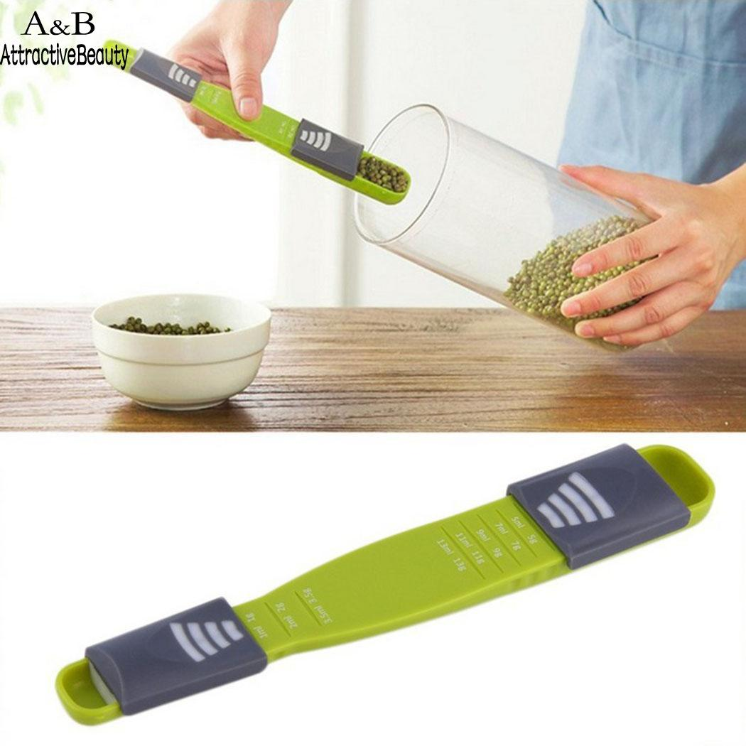 Tools New Adjustable Spoon Green Kitchen Multi Functional