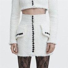 Winter Tweed Faldas Skirt