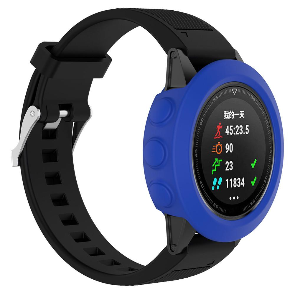 Image 3 - High quality Silicone Protective Case Cover Wristband Bracelet Protector For Garmin Fenix 5 Smart Watch Colorful Silicone-in Smart Accessories from Consumer Electronics
