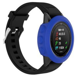 Image 3 - Wysokiej jakości silikonowe skrzynki pokrywa opaska na nadgarstek bransoletka Protector dla Garmin Fenix 5 smart watch kolorowe silikonowe