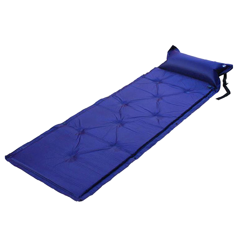 Self Inflating Sleeping Pad Camping Pad with Pillow Air Mattress Bag Picnic Beach Mat Sand Mat for Adults
