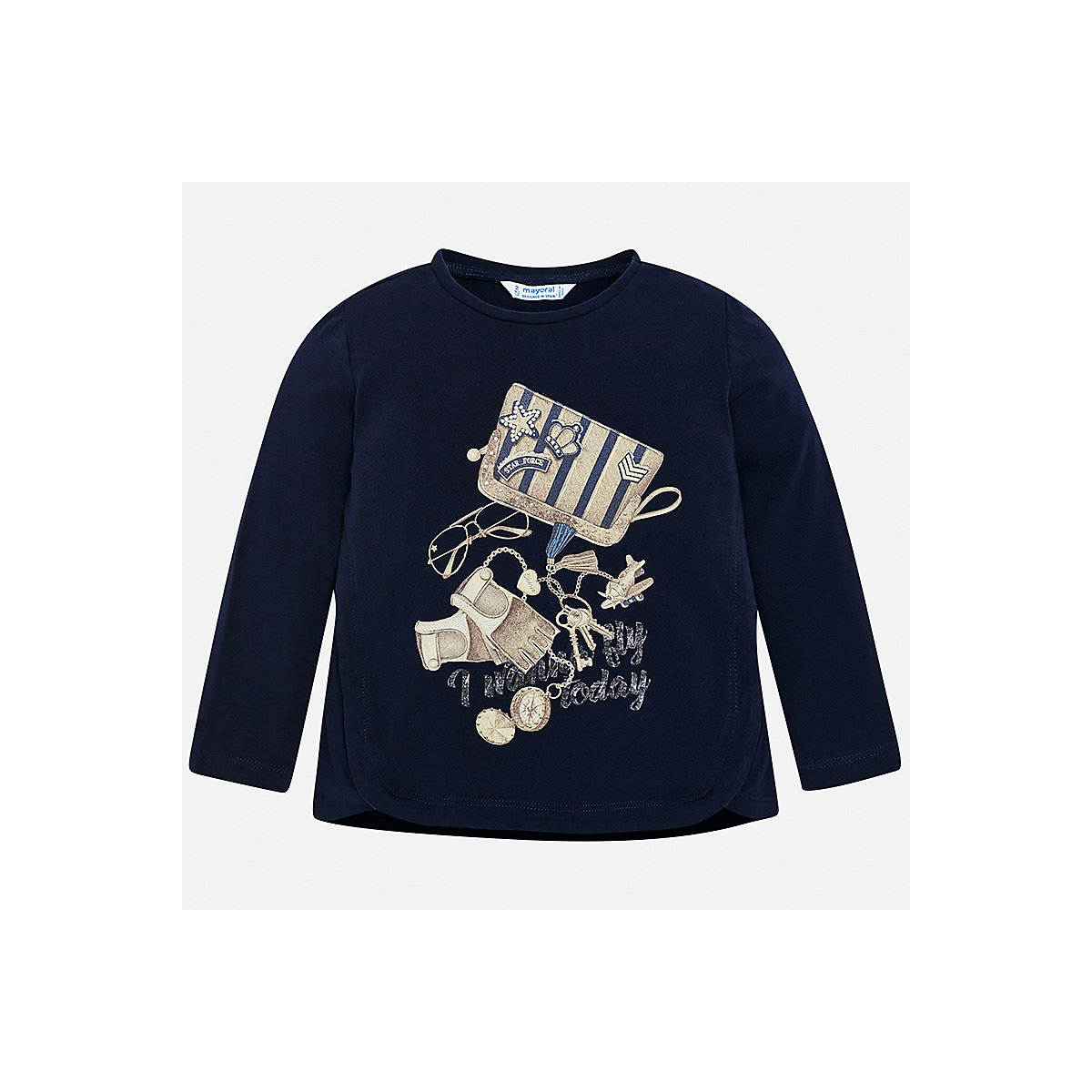 MAYORAL Blouses & Shirts 8849691 Girls Cotton  clothes baby boy children child wear autumn baby boy clothes newborn cartoon baby girls clothing rompers infant cotton long sleeve jumpsuits spring clothes wear