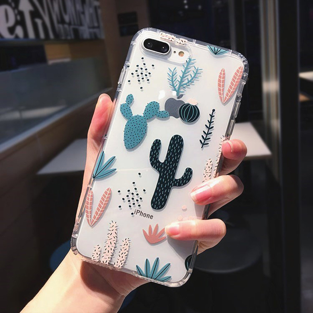 Cactus Phone Case For iPhone