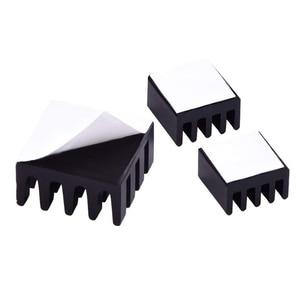Image 5 - 8pcs עבור פטל Pi אלומיניום גוף קירור גוף קירור מחשב Cooler רדיאטור אלקטרוני שבב חום פיזור קירור רפידות