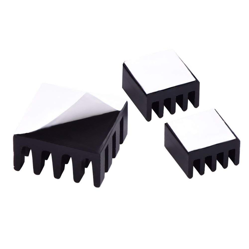 Image 5 - 8pcs for Raspberry Pi Aluminum Heatsink Heat Sink Computer Cooler Radiator For Electronic Chip Heat Dissipation Cooling Pads-in Demo Board Accessories from Computer & Office