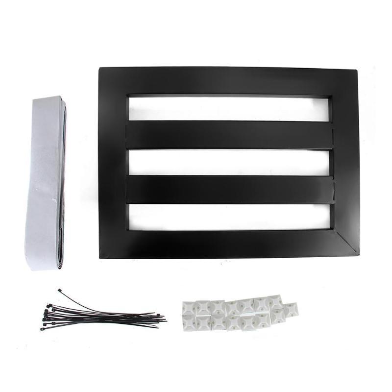Pédale effet guitare 47x27 cm Pedalboard w/ruban sangles de câble accessoire