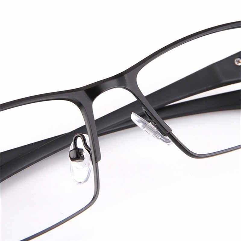 9ffbc9eeea ... UVLAIK Men Alloy Eyeglasses Frame for Men Eyewear Flexible Temples TR90  Legs Glasses Frames Plating Alloy ...