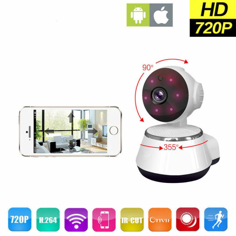 Image 2 - كاميرا مراقبة IP صغيرة تعمل بالواي فاي نظام أمن المنزل الذكي. مع كاميرا مراقبة حيوانات أليفة رضع عالية الدقة 720Pأجهزة مراقبة للرضع   -