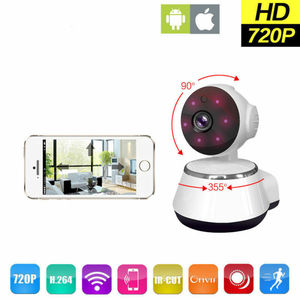 Image 2 - Mini WiFi monitor IP camera smart home security system. With 720P HD resolution Baby Pet Monitor CAMERA