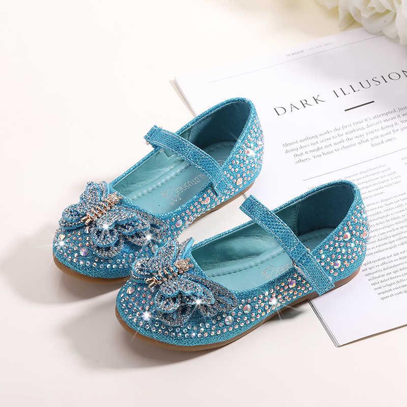 2a5a006478b3 MRLOTUSNEE Girls  Shoes PU(Polyurethane) Spring Fall Girl Shoes Flats  Bowknot Sequin Sparkling