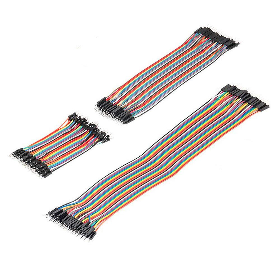 Dupont Wire Jumper Cable For Arduino Breadboard 120Pcs Replaces Latest Newest