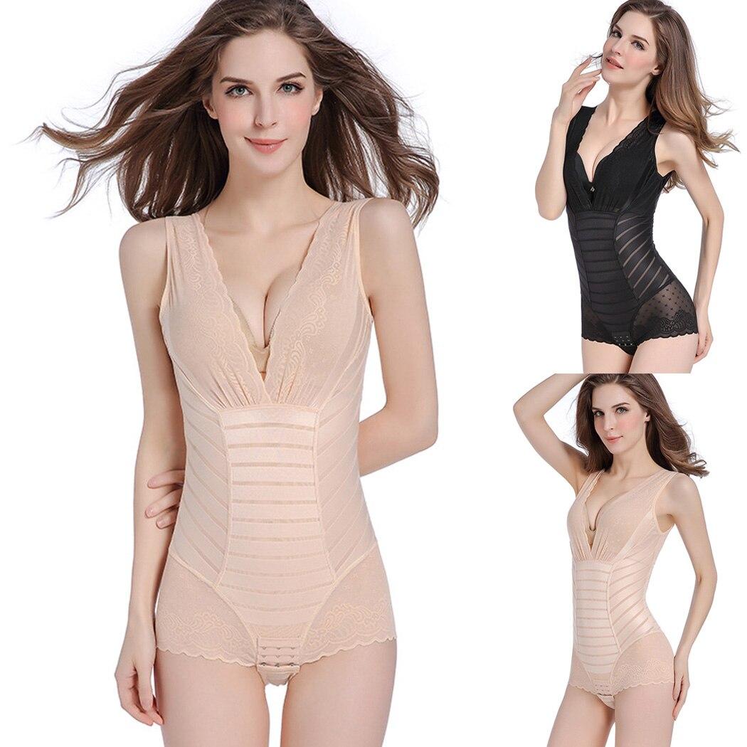 Women Lace Full Body Shaper Lingerie