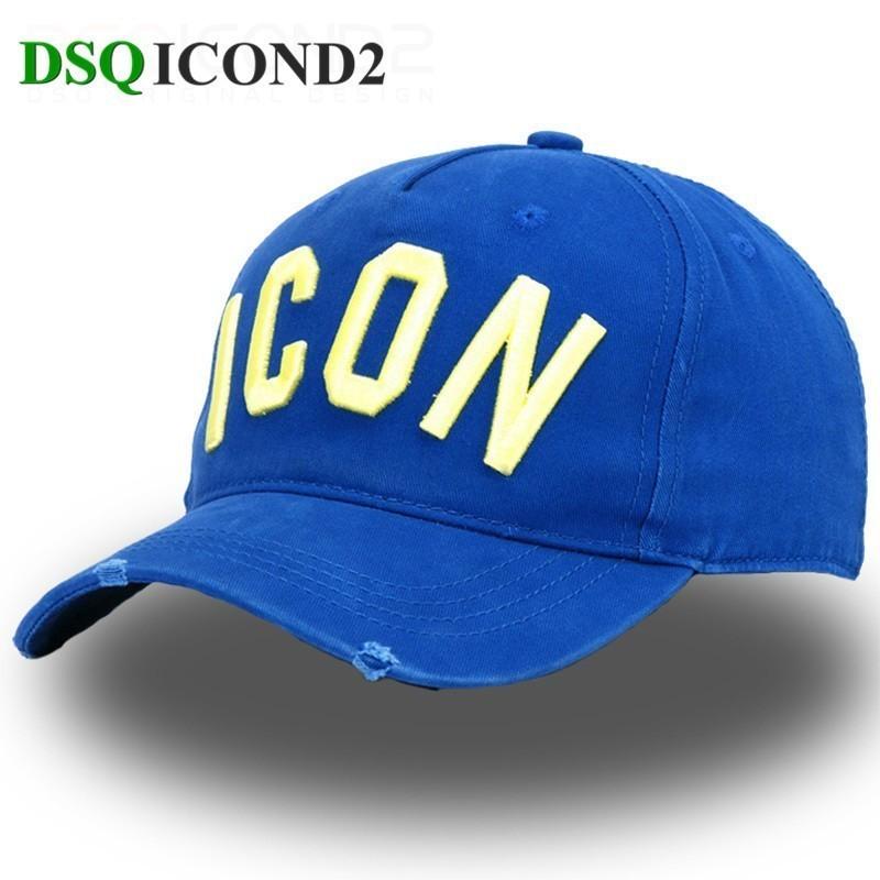 Brand Hat DSQ Baseball-Cap Mountain-Fishing-Cap Letter-Pattern Women Summer Visor Hoeden