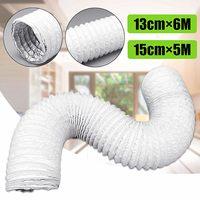5M/6M Flexible Air Conditioner Exhaust Hose Vent Tube Pipe 150/130mm Diameter