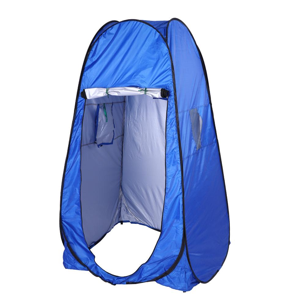 Foldable Tent Outdoor Shower Tent Beach Privacy Toilet Changing Room Camping Hiking Multi function Tent 195x100x100cm