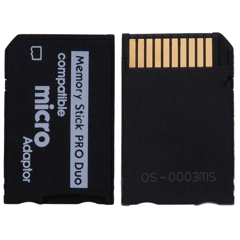 Mini Micro SD Adapter TF Card To MS Card Reader Memory Stick MS Pro Duo Adapter Converter Card Case For PDA And Digital #21