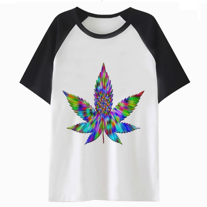 weed t shirt hip clothing funny tee t-shirt top harajuku men streetwear tshirt for hop male o4461