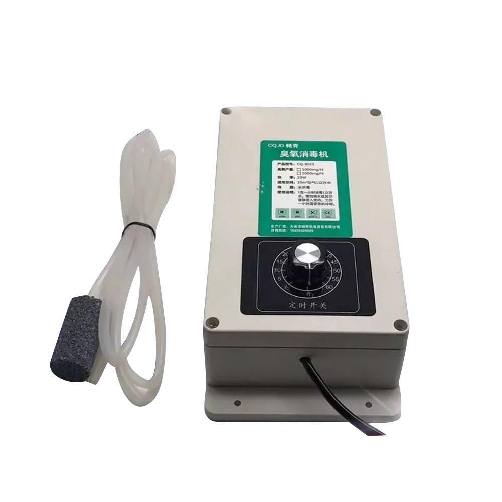 Adoolla 2000mg 220V 8L Ozone Generator with Timer for Fruits Vegetables Air Sterilizer Purifier Air Purifiers     - title=