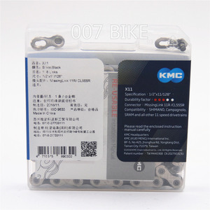 Image 2 - KMC X11.93 łańcuch 11 22 33 prędkość rower górski łańcuch rowerowy oryginalny X11 MTB szosowe łańcuchy 118L