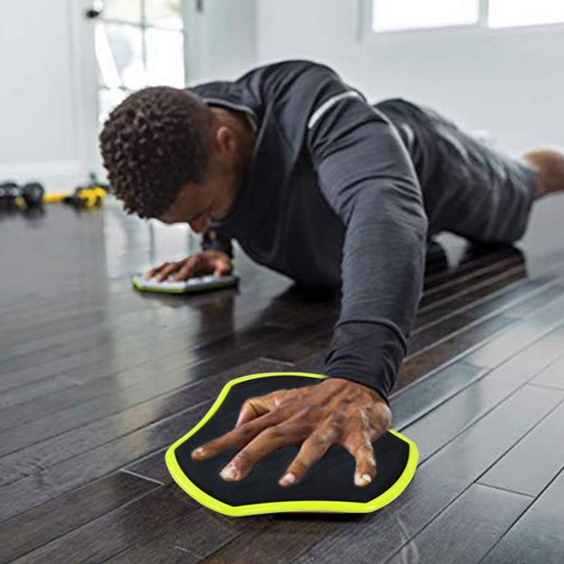 Fitness Slider Mat Exercise Slide Sliding Plate For Core Stability Exercises Coordination Skills Training Fitness Accessories