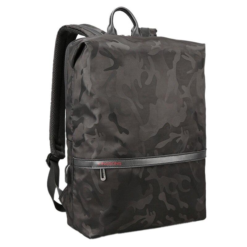 Kingsons Men Backpacks For 15.6 inches Laptop Backpack Large Capacity Women Shoulder Bags Student Casual Bag Water RepellentKingsons Men Backpacks For 15.6 inches Laptop Backpack Large Capacity Women Shoulder Bags Student Casual Bag Water Repellent