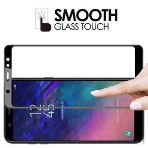 Image 4 - الزجاج المقسى لسامسونج غالاكسي A6 2018 A6plus A600F واقي للشاشة على لسامسونج A6 زائد A6 + 6 طبقة رقيقة واقية غطاء