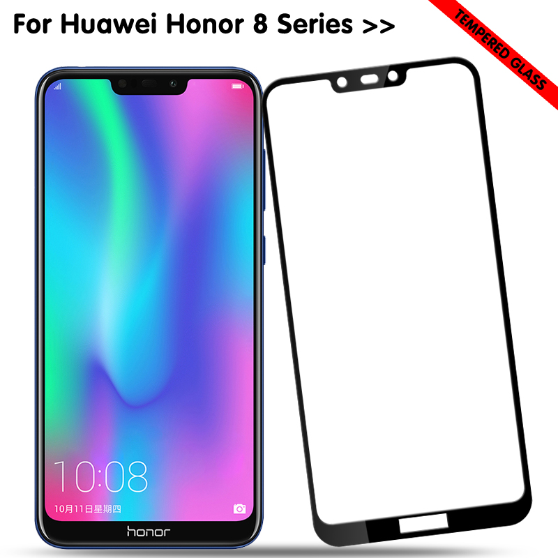 Honor8 Light Protective Glass For Huawei Honor 8 Lite 8c 8x 8a Screen Protector On Hauwei Honer 8lite 8light C8 Tempered Glass