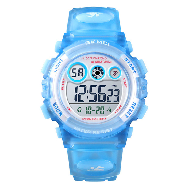 <font><b>SKMEi</b></font> Children's Watch Waterproof LED Digital Sports Date Alarm Clock Luminous Watch <font><b>1451</b></font> image