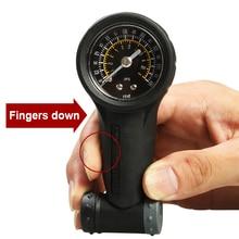 Universal Pressure Bicycle Tire LCD Display Manometer Multifunction Gauge Meter Digital Bike Accessories ~