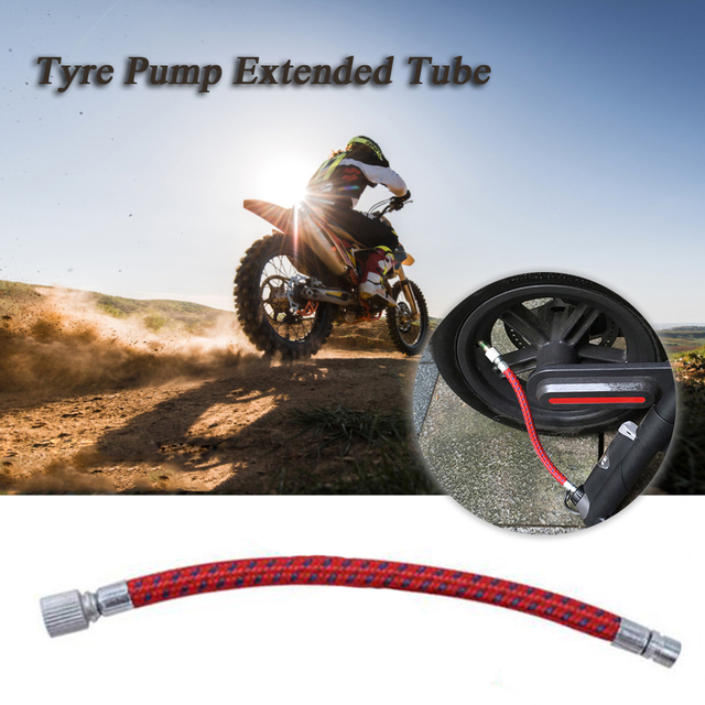 Bicycle Scooters Tyre Pump Air Inflator Extended Tube Inflator Tube for Xiaomi Mijia M365 Electric Scooter Skateboard