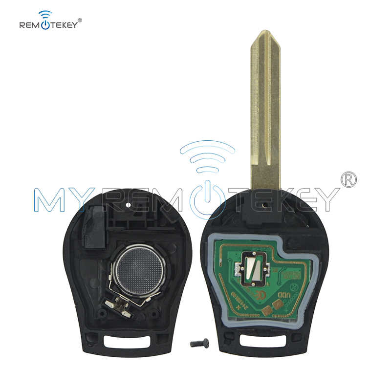 Remtekey дистанционного ключа fob 3 кнопки 433 МГц с ID46 чип для 2008 2009 2010 2011 2012 2013 Nissan Cube космического аппарата изгой