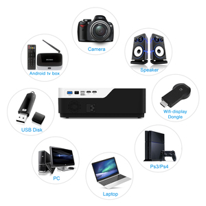 Image 2 - BYINTEKK11 Smart Android projector, 1920x1080 resolution, FULL HD 1080P support 4K,LED long life beamer,for Home Theater Cinema