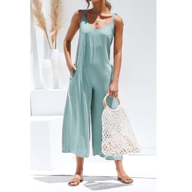 new 2019 women solid fresh overalls   jumpsuits   vogue candy color summer casual rompers trousers playsuits woman   jumpsuit   backless