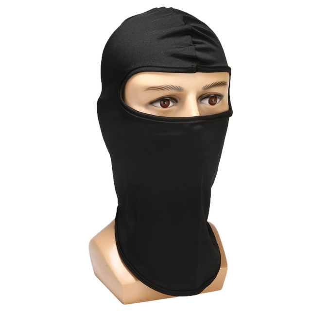 Ultra-thin Motorcycle Lycra Balaclava Ski Full Face Mask Cycling Neck Protect Wear Accessories 3