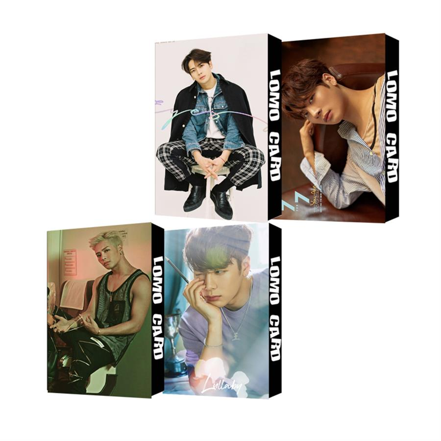 30pcs/set Got7 Jackson Personal Albums Paper Lomo Photo Card Hd Collective Photocard Kpop Fan Gift Jewelry Findings & Components