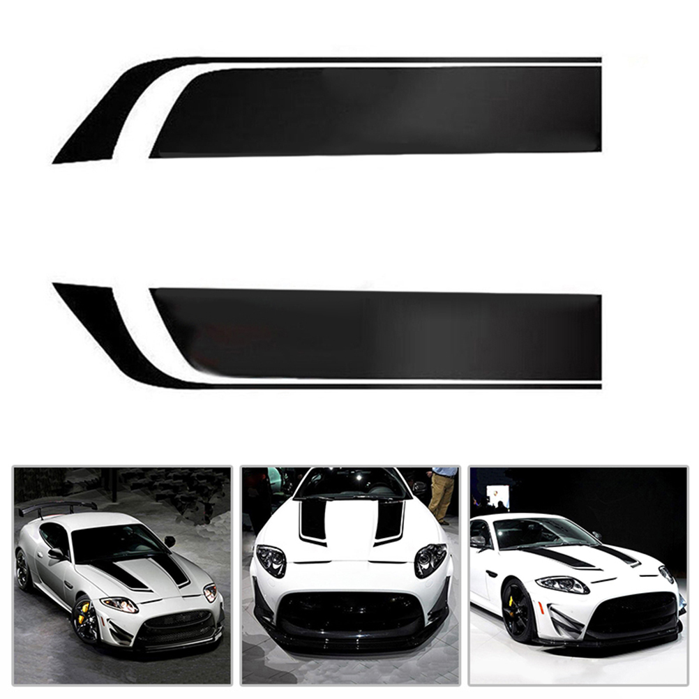 "Custom Vinyl Decal 22/"" wide Racing Stripes The DALE 1/"" GLOSS WHITE"