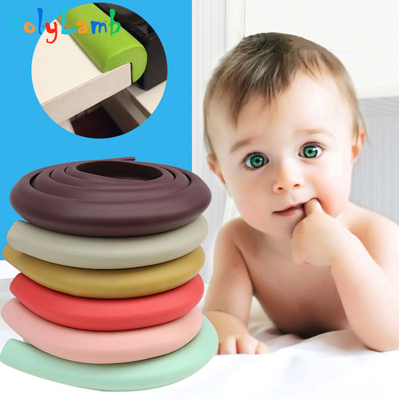 Baby Safety Corner Pad Table Corner Protection Baby Bumper Child Sponge Protect Safety Products Baby Protection Strip