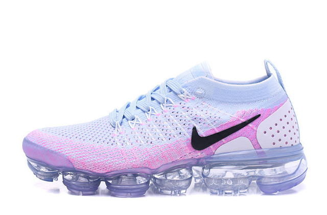 ec84b7e8a6f Women Nike Air VaporMax Flyknit 2.0 W 2018 Shockproof Running Shoes ...