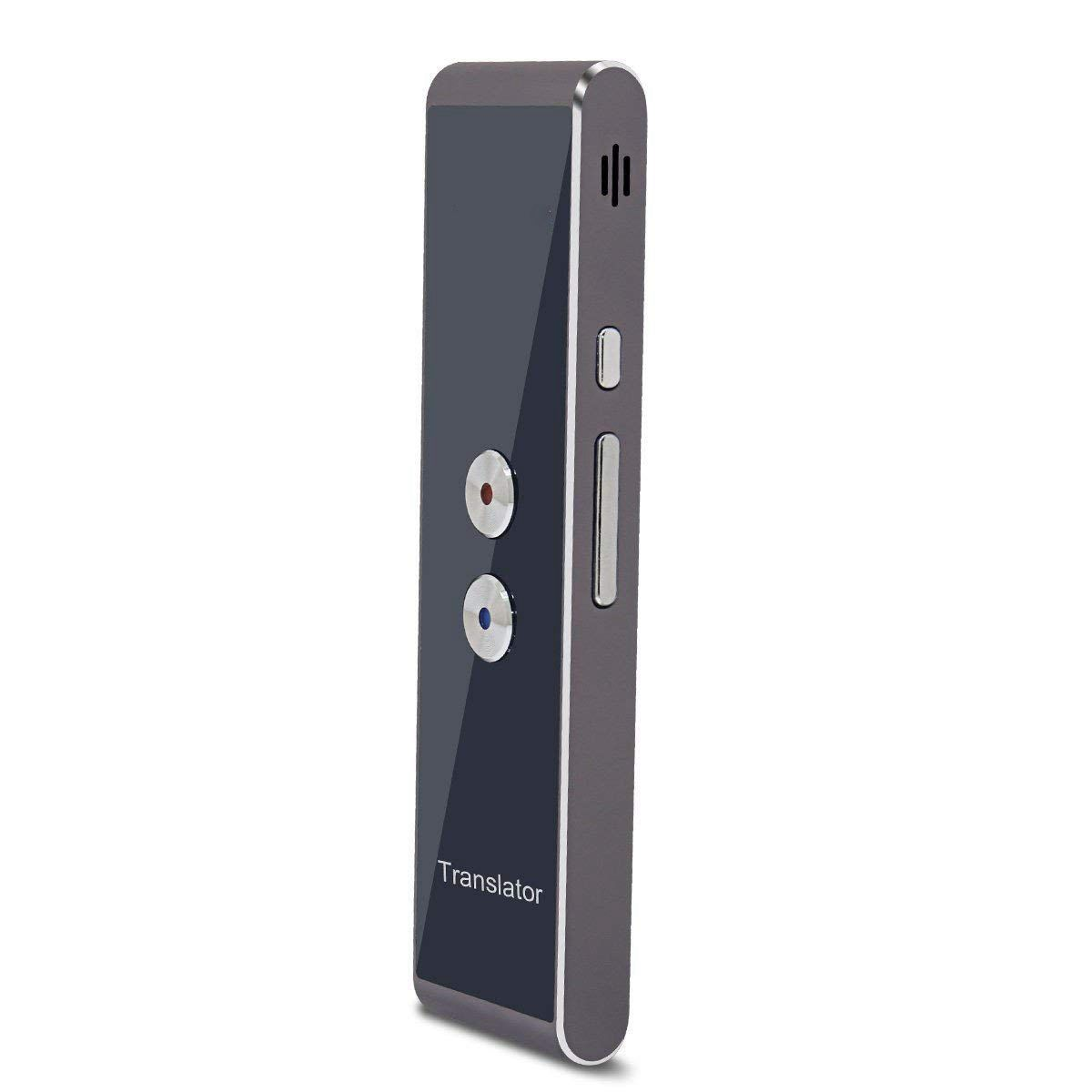 HOT-T8 Handheld Bolso Inteligente Discurso Tradução Tradutor De Voz Em Tempo Real, 30 + Línguas para Viagem de Negócios Comercial Reunião