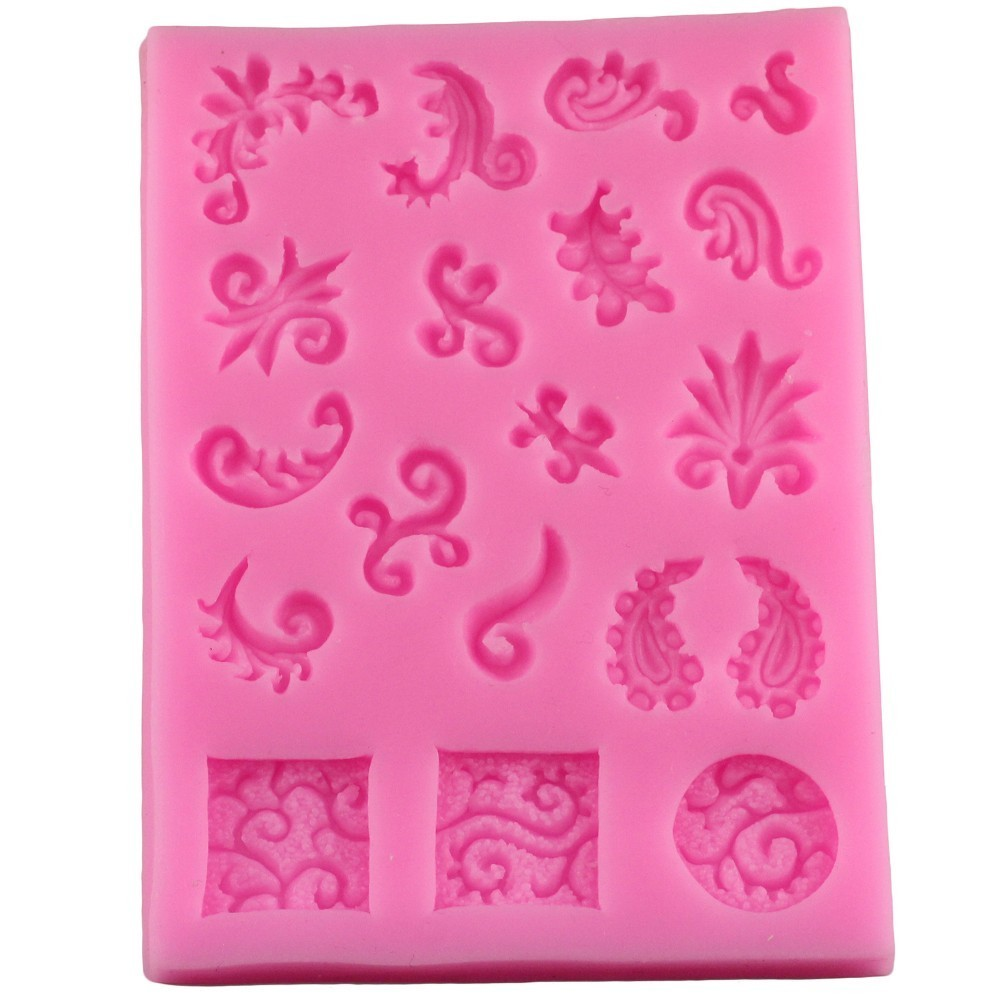 Hot Sale DIY Sugar Craft Cake Vintage Relief Border ...