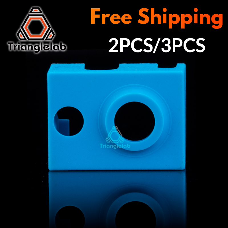 Trianglelab Super High Quality Cartridge Heater Bock Silicone Socks V6 Socks For PT100 Heated Block For V6 PT100 Hotend Nozzle