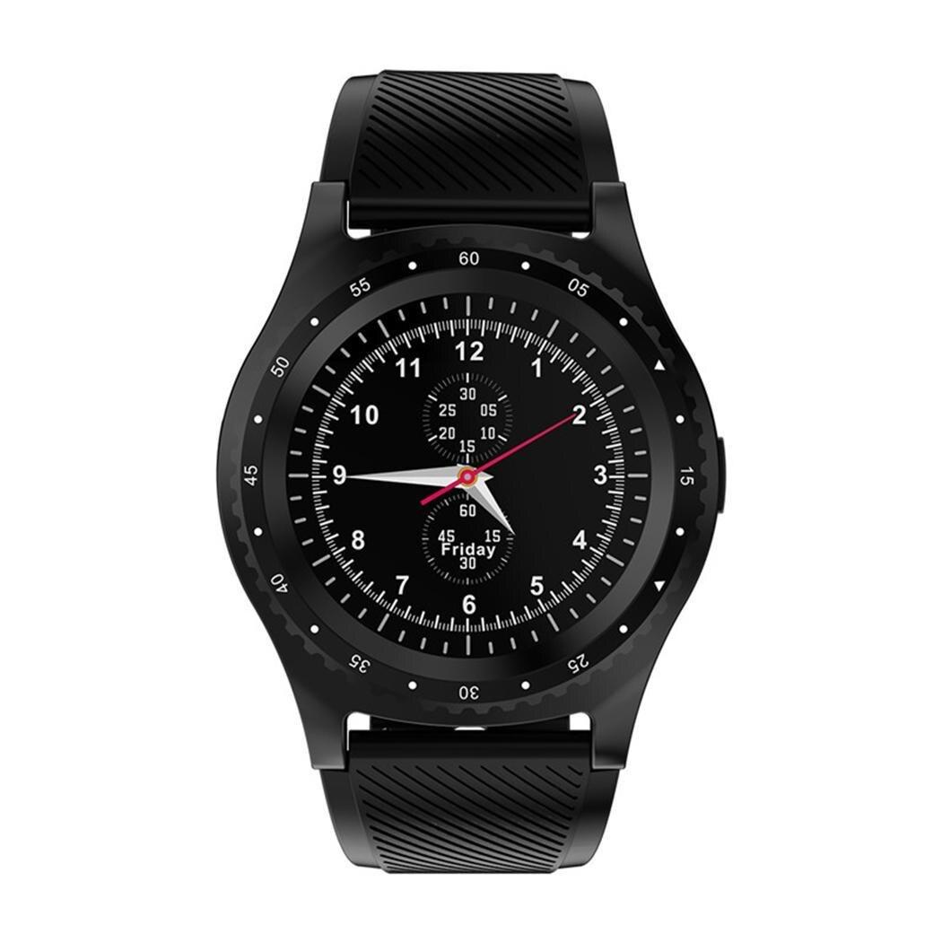 Genial Unisex Casual Runde Form Lcd Bildschirm Schnalle Verschluss Smart Uhr Eine Hohe Bewunderung Gewinnen Schrittzähler