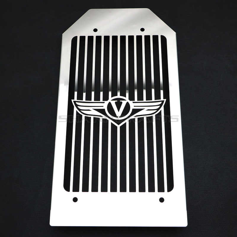 Крышка радиатора из нержавеющей стали с черепом для мотоцикла, защита гриля для KAWASAKI VN 2000, вулкан VN2000, все модели