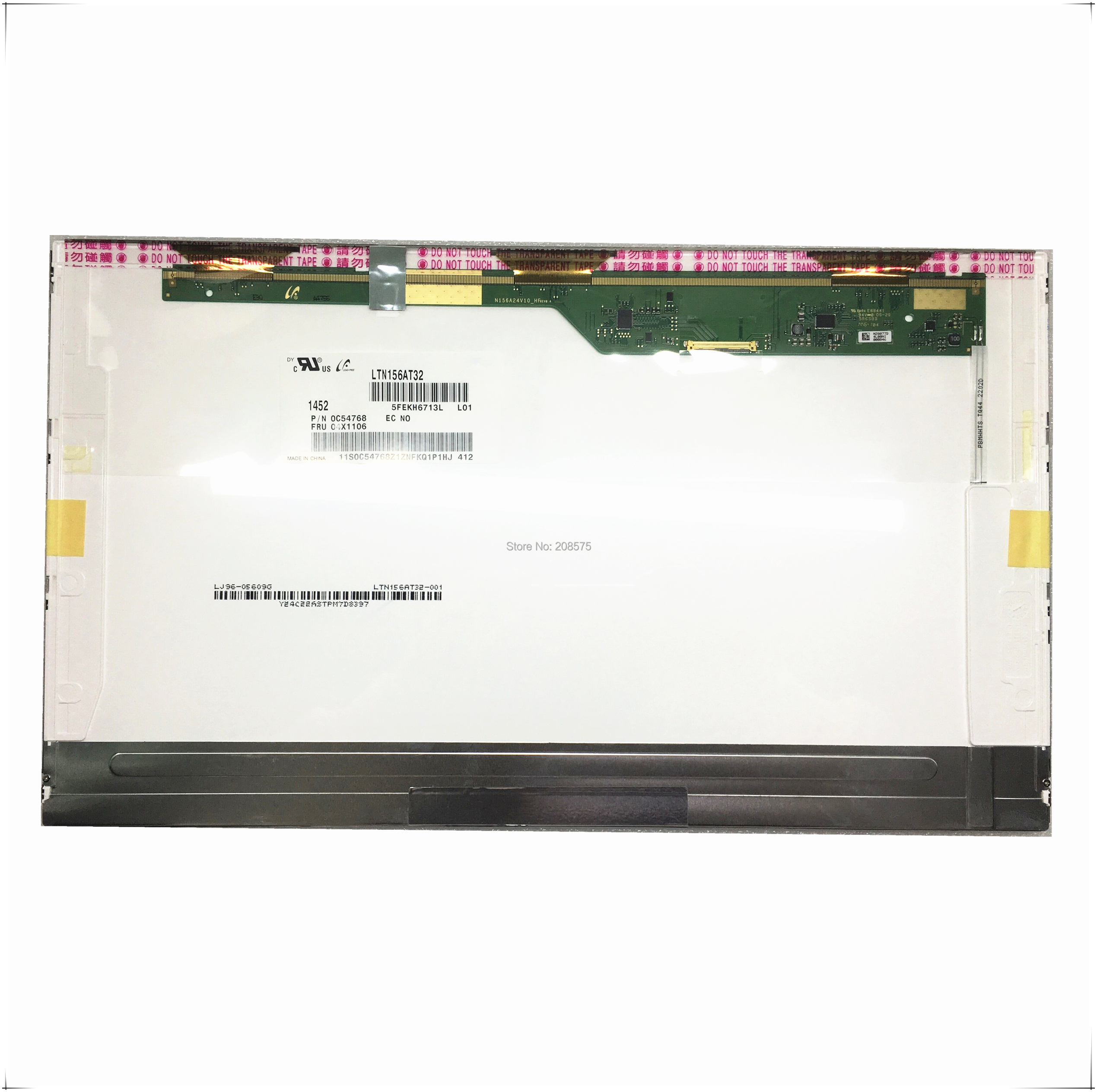 Free Shipping LTN156AT32 HB156WX1-100 N156BGE-L21 LTN156AT27 B156XTN02.2 LP156WH4 B156XW02  Display Laptop Screen Pancel 40 Pins